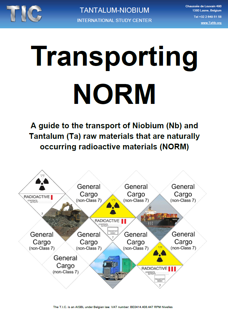 transport of naturally occurring radioactive materials norm tic